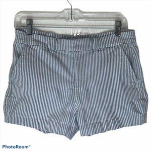 Ann Taylor Loft Striped Shorts